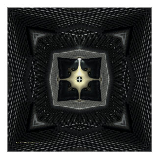Caleidoscopio gótico de la ciencia ficción del rea poster