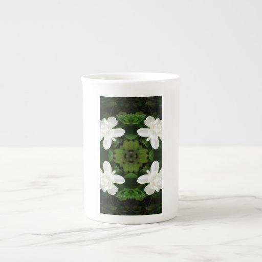 Caleidoscopio hermoso 1 del Gardenia 5 Taza De Té