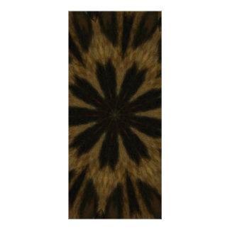 Caleidoscopio manchado de la flor del leopardo lona publicitaria