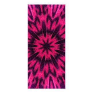 Caleidoscopio manchado del rosa del leopardo diseños de tarjetas publicitarias