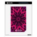 Caleidoscopio manchado rosa del leopardo calcomanías para el NOOK color