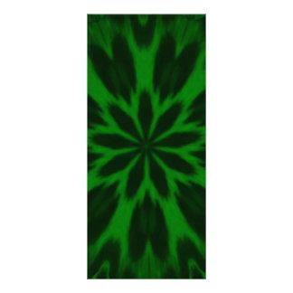 Caleidoscopio manchado verde afortunado del leopar tarjeta publicitaria personalizada