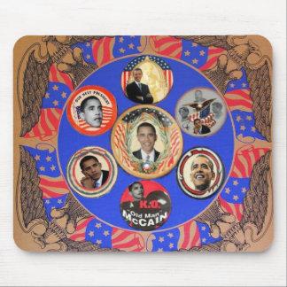 Caleidoscopio Mousepad de Obama