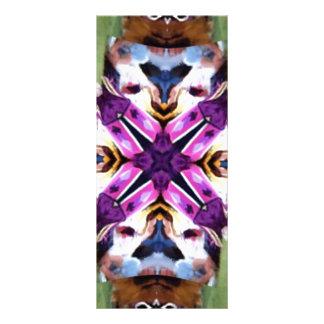 Caleidoscopio precioso del bailarín de la pluma tarjeta publicitaria personalizada