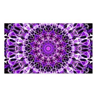 Caleidoscopio púrpura ausente de la mosca tarjetas de visita