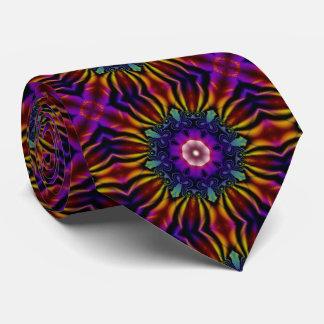 Caleidoscopio púrpura corbatas personalizadas