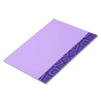 Caleidoscopio púrpura de la conciencia blocs de notas