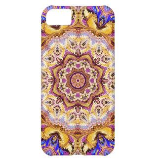 caleidoscopio púrpura del oro del caso del iPhone  Funda Para iPhone 5C