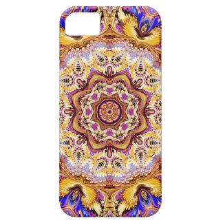caleidoscopio púrpura del oro del caso del iPhone iPhone 5 Carcasa