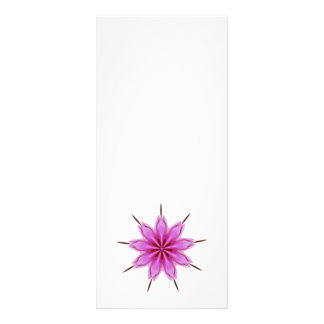 Caleidoscopio radiante elegante de la orquídea tarjetas publicitarias personalizadas