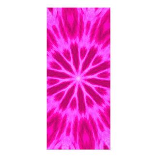 Caleidoscopio teñido anudado de las rosas fuertes lona personalizada