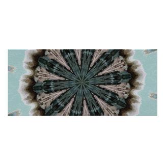 Caleidoscopio terroso de la mandala lonas publicitarias
