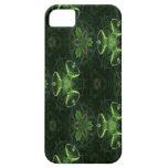 Caleidoscopio verde 1 iPhone 5 Case-Mate coberturas