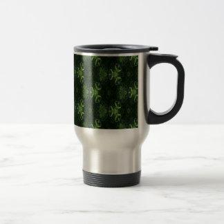 Caleidoscopio verde 1 tazas