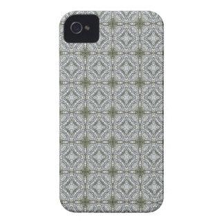 caleidoscopios Gris-verdes 1 iPhone 4 Protectores