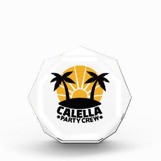 Calella party crown award