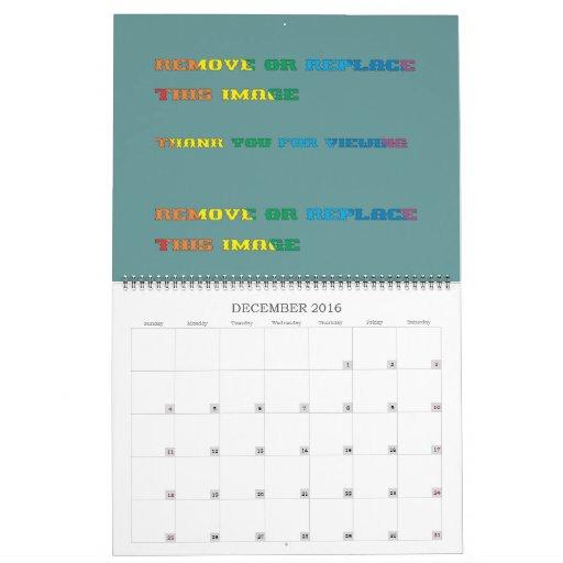 Calendar 13 Month 2012 Customize plate 39