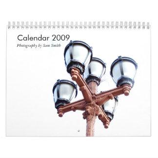 Calendar 2009 By Sam Smith