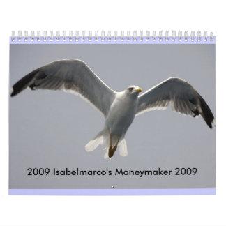 Calendar, 2009 Isabelmarco Calendar