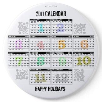 Calendar 2011 Button 6