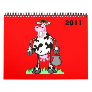 calendar 2011 cartoon
