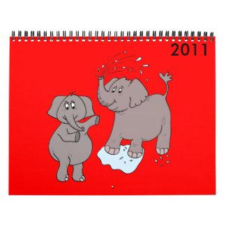 calendar 2011 cartoon 2