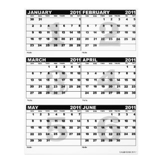 Calendar 2011 Flyer flyer