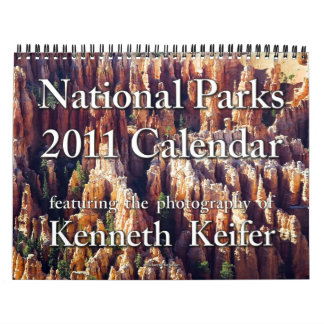 Calendar - 2011 National Parks Calendar