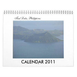 CALENDAR 2011 Taal Lake Philippines