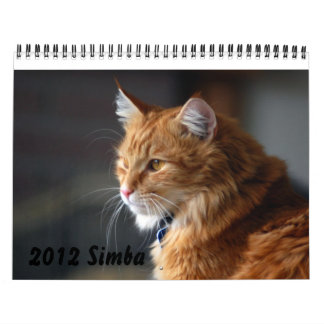 Calendar 2012 Cat