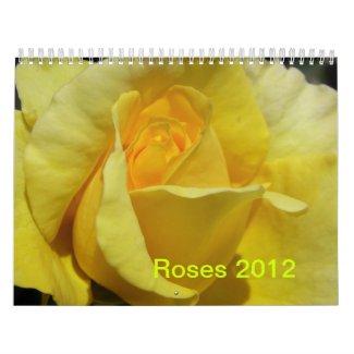CALENDAR - 2012 ROSES calendar