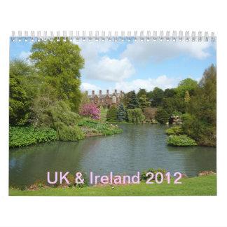 CALENDAR - 2012 United Kingdom & Ireland