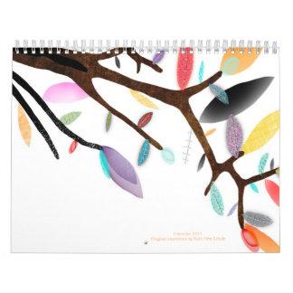 Calendar 2012 Whimsical color