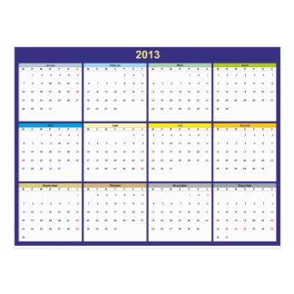 Calendar 2013 German Post Card