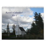 Calendar 2013 Karen's Customizable