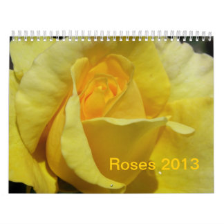 CALENDAR - 2013  ROSES