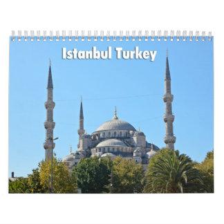 Calendar 2014 Istanbul
