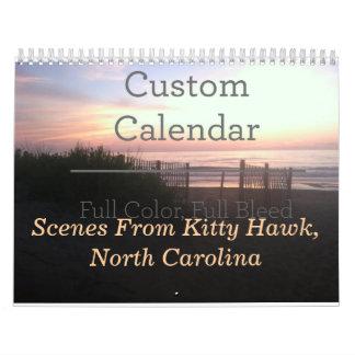 Calendar-2014-Kitty Hawk, NC Calendar