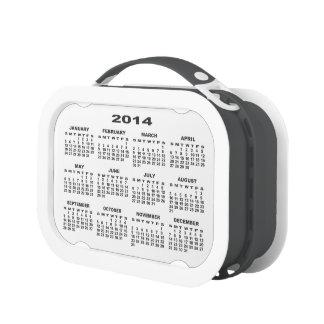 Calendar 2014 Lunchbox (Grey) No2