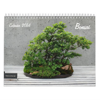 Calendar 2014 with Bonsai