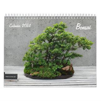 Calendar 2014 with Bonsai