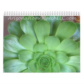 Calendar 2015 Arizona Home Watch LLC Desert Photo