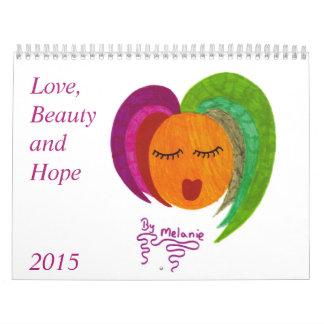Calendar 2015/US Holidays - Love, Beauty and Hope