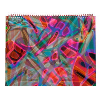 Calendar 2016 Colorful Stained Glass
