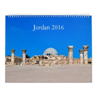 Calendar 2016 Jordan