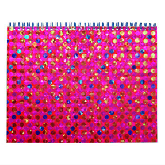 Calendar 2016 Polka Dots Sparkley Jewels