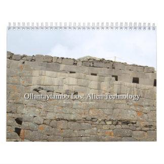 Calendar 2017 Ollantaytambo Lost Alien Technology