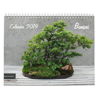 Calendar 2019 with Bonsai
