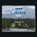 """Calendar 2020<br><div class=""""desc"""">Whitewater photography from the South East,  California,  British Columbia,  Alberta,  Norway,  and Spain.</div>"""