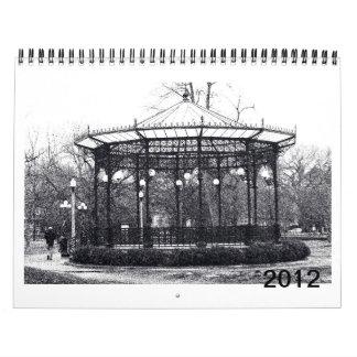 Calendar, a year with the Bulldog Calendar
